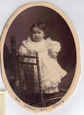 4 x 5″ Agnes Kathleen 1907 Fleming