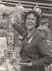 3 x 4″ Margaret Jean Fleming in Tokyo Japan 1963